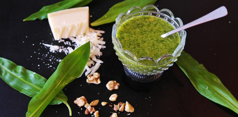 Kale & Parsley Pesto