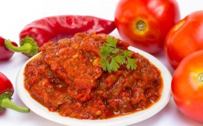 Bush Tomato Relish With Eggplant